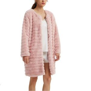 Luxury Fur Coat Parka Outerwear